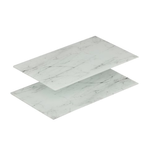 zeller-26247-52-x-30-x-05-cm-chopping-board-for-ceran-cookers-marble-design-glass-set-of-2