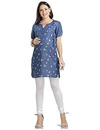 5396c2b2685ed Denim Maternity Dresses: Buy Denim Maternity Dresses online at best ...