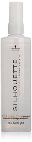 Schwarzkopf Silhouette Style and Care Lotion flexible hold, 200 ml, 1er Pack, (1x 200 ml) (Schwarzkopf Silhouette)