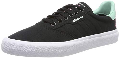 adidas 3Mc Scarpe da Skateboard Unisex - Adulto, Nero (Negro 000), 45     EU