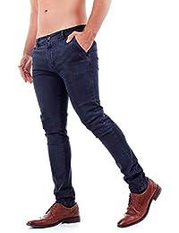 Pantaloni Uomo Chinos Pantalone Casual Elegante Slim Fit Basic Classico da Ufficio con Tasca America in Cotone Invernali