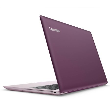 Lenovo Ideapad 320 15,6 Zoll HD High Performance Laptop PC, Intel Celeron N3350 Dual-Core, 4 GB RAM, 1 TB HDD, Bluetooth 4.1, WLAN, DVD-RW, Microsoft Windows 10 (Plum Purple)