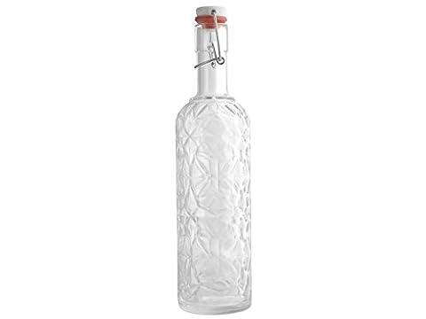 Bormioli Luigi wertvolle bottliglia mit Spitze, LT 1, Glas, transparent, 8x 8x 33cm
