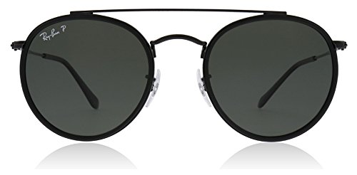 Ray-Ban Rayban Metal Frame Green Classic Lens Unisex Sunglasses 0RB3647N0025851 0RB3647N-002/58-51 - Double Time Damen Uhr