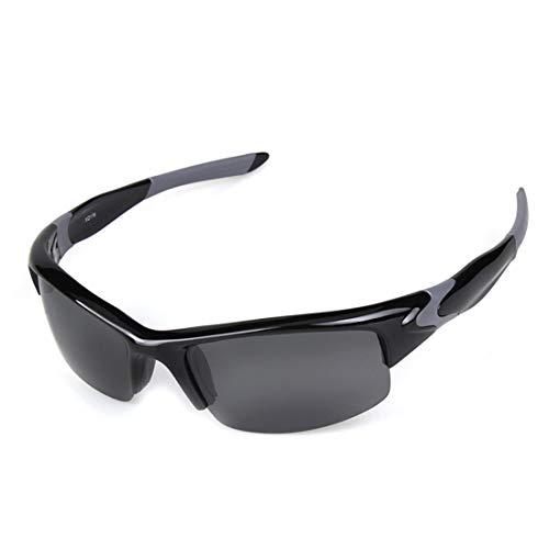 Retro Vintage Sonnenbrille, für Frauen und Männer Polarisierte Sport Sonnenbrille pc tr90 halbrahmen für Erwachsene männer Frauen im freien Fahren Radfahren Anti-uv rutschfeste Schutz