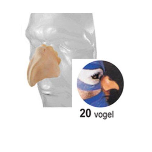 Latex Teile künstliche Gesichtsteile Theater Profi Qualität Nr 20 Vogel (Vogel Nase)