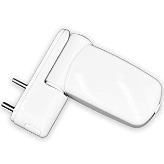 UPVC Double Glazing Door Flag Hinge Adjustable Avocet MT3D (White)