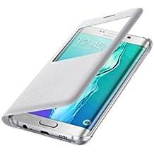 Samsung S-View Flip Cover - fundas para Samsung Galaxy S6 Edge+ Blanco
