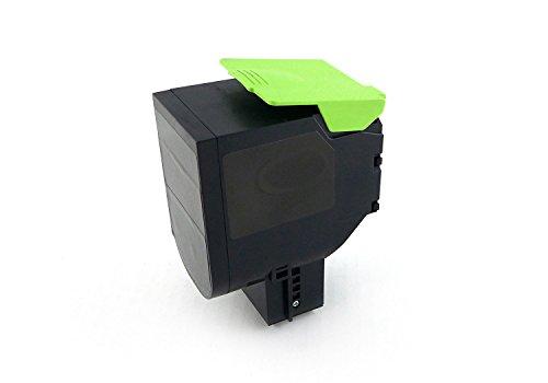 Preisvergleich Produktbild Green2Print Toner schwarz, ersetzt Lexmark 80C0H10, 800H1, 80C2HK0, 802HK, 80C2HKE, 802HKE, 4000 Seiten, passend für Lexmark CX410DE, CX410DTE, CX410E, CX510DE, CX510DHE, CX510DTHE