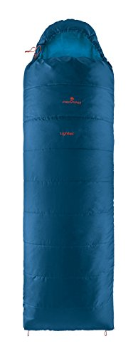 Ferrino, lightec sq, sacco a pelo unisex, blu, 900