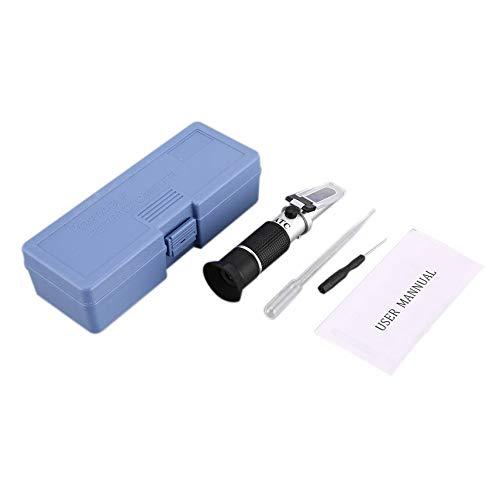 Handrefraktometer Adblue Ethylenglykol Frostschutzmittel Batterie Flüssigkeitsgehalt Kühlmittel Reiniger Meter Mini ATC Messgerät
