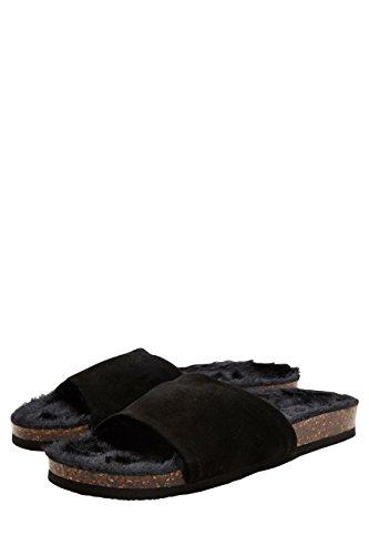 next Pantofole Donna Nero