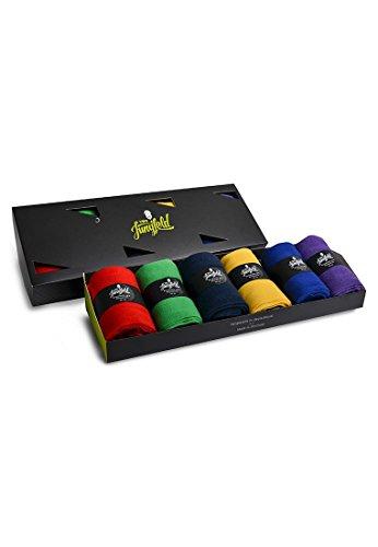 Di Jung casella calzini Box-Best of Sixpack-Set da  pezzi. multicolore 49-51