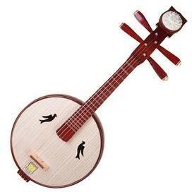 Hochwertige Xiao Ruan Instrument Chinesische Mond Gitarre Ruan Mit Zubehör