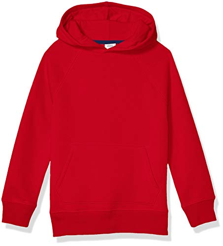 Amazon Essentials Pullover Hoodie Sweatshirt Fashion, Rojo, S