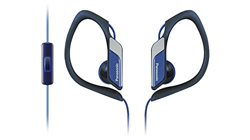 Panasonic RP-HS34ME-A Stereo Headphone with Mic (Blue)