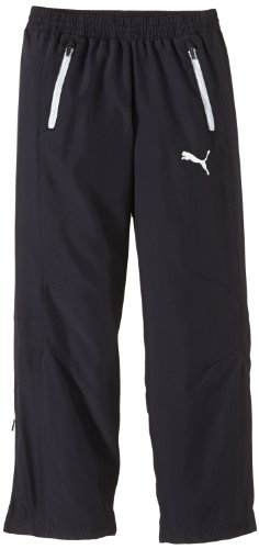 PUMA Kinder Hose Leisure Pants, New Navy/White, 164 -