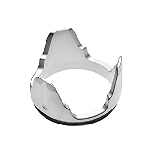 Nitecore Bezel Corona Dentata Silver für P25 SRT7 MH25 SRT9 Ea41 TM03 EC4