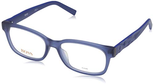Boss orange hugo orange sonnenbrille bo-0240-f-lei-17-54-17-0 occhiali da sole, blu (blau), 54.0 uomo