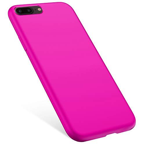 Rann.Bao Coque Compatible avec iPhone 7 Plus//iPhone 8 Plus Silicone /étui Protecteur Bumper Housse Marbre Mod/èle Mince Flexible TPU Gel Case Cover Coque Protection Etui