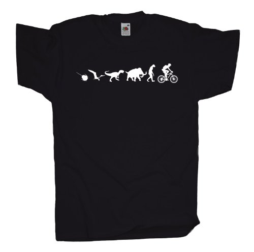Ma2ca - 500 Mio Years - Mountainbike Biker T-Shirt Black