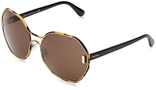 Prada Damen Voice PR22QS Sonnenbrille, Weiß (Ivory 7S30A7), One size (Herstellergröße: 56)