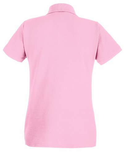 Fruit of the loom lady-fit premium polo 63–030–0 Rose - rose clair