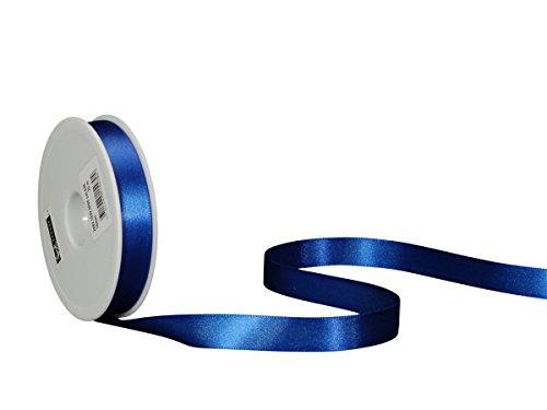 Spyk Bänder Klebeband doppelseitig für Geschenk 16 mm, 25 m Blue Savoia (Schleife 036)