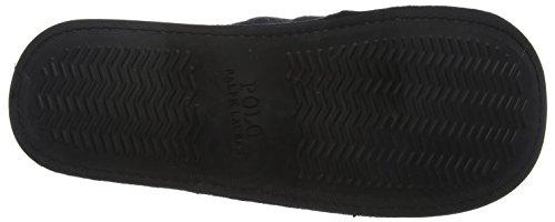 Polo Ralph Lauren Mens Heritage Scuff, Rétro Aperto Uomo Noir (noir / Gris Polaire)