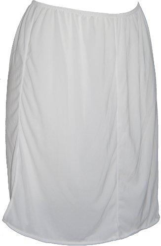 ex-store-plain-white-polyester-rear-slit-waist-slip-size-16-29l