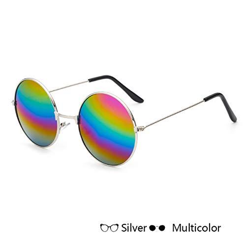 Sport-Sonnenbrillen, Vintage Sonnenbrillen, Round Sunglasses Kids Retro Frame Glasses Children Sun Glasses For Boys Girls Brand Eyewear UV400 K