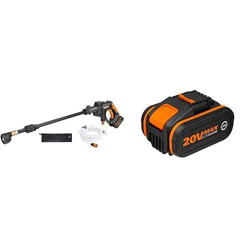 Worx WG629E Hidrolimpiadora a Presión + Worx WA3553 Batería, 20 V