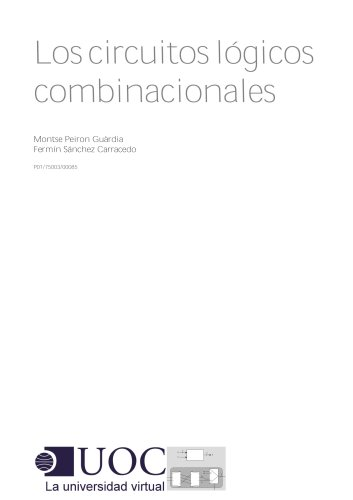 Los circuitos lógicos combinacionales por Fermín Sánchez Carracedo