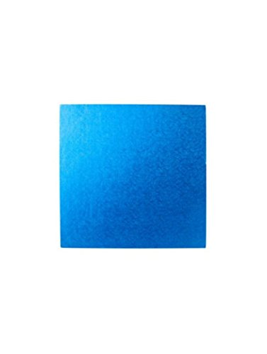 25,4 cm carré Bleu foncé pour gâteau