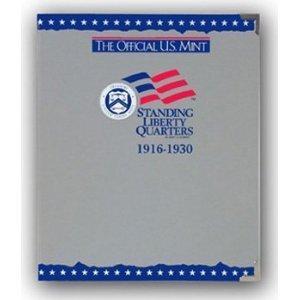 The Official U.S. Mint Standing Liberty Quarters Coin Album: 1916-1930 (2001-06-01)