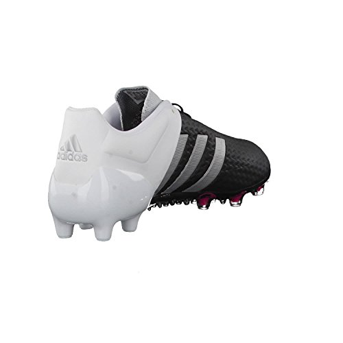 Ace 15+ Primeknit FG - Chaussures de Foot core black/matte silver/ftwr white