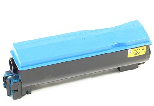Kyocera TK-570C Original Toner Cyan FS-C5400DN ECOSYS P7035cdn gebraucht, Toner.:65% Toner -