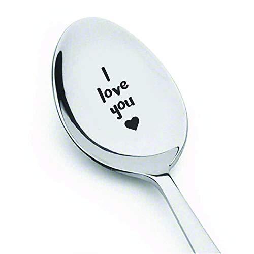 Love you cucchiaio, I LOVE YOU, 18 cm