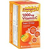 Emergen-C Super Orange, 1000 mg of Vitamin C, 0.32 Ounce, 30-Count Please Read The Details Before Purchase. There is no Doubt The 24-Hour Contacts. Amazon Rs. 6539.00