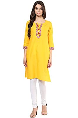 Rangmanch by Pantaloons Women's Cotton Kurta