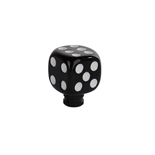 Preisvergleich Produktbild hotrodspirit–Hebel-Drehzahl schwarz Punkt Weiß Handbrause Universal Auto