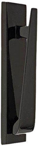 Mila 590127 - Battente per porta a coda di cavallo, colore: nero
