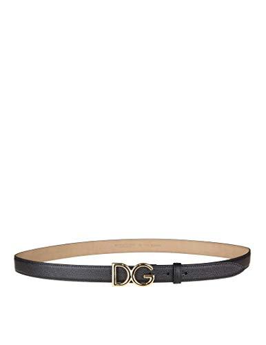 Dolce E Gabbana Cintura Donna Be1325a100180999 Pelle Nero