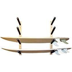 Support de Planche de Surf en Bois - Rangement