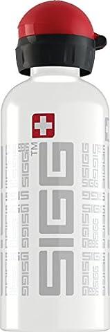 Sigg Trinkflasche Siggnature, Weiß, 0.6 Liter, 8417.4