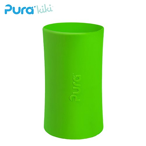 Pura Kiki - Silikonüberzug (Sleeve) - 250ml/325ml Pura Farbe Grün