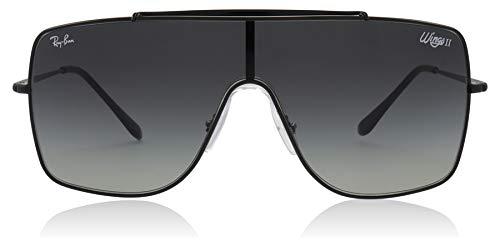 Ray-Ban Herren 0RB3697 Sonnenbrille, Blau (Black), 40.0