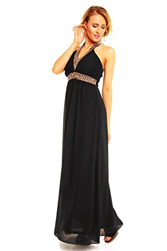 Fashion - Robe - Femme Noir - Noir