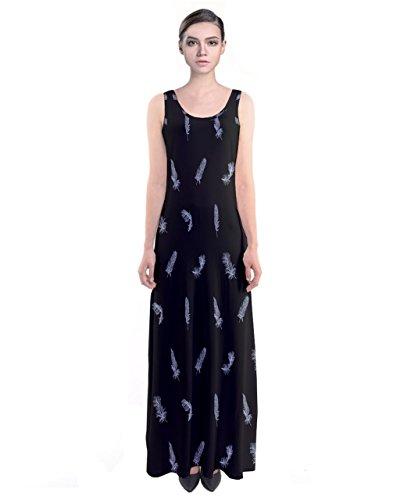 CowCow Damen Kleid Schwarz schwarz Schwarz
