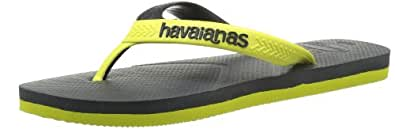 Havaianas Men's Casual Thong Sandals Grey Size: 7^8 UK